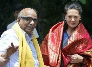 karunanidhi in national politics