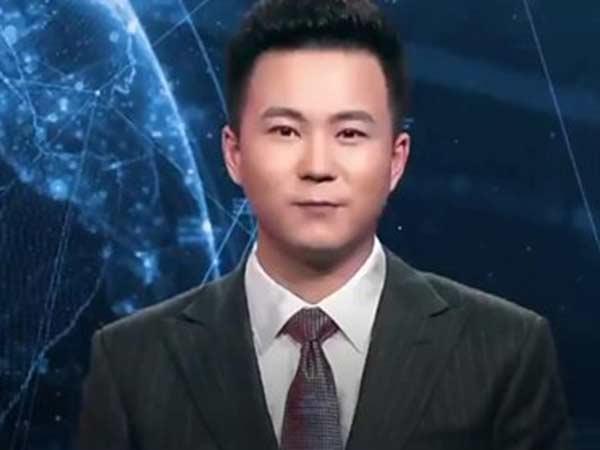 china virtual news reader