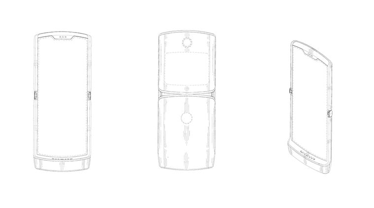 Motorola's foldable Razr secondary screen