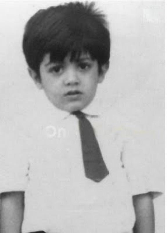 Tamil Celebrities Childhood Pictures, thala ajith