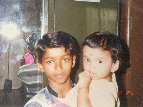Tamil Celebrities Childhood Pictures, Thalapathy Vijay