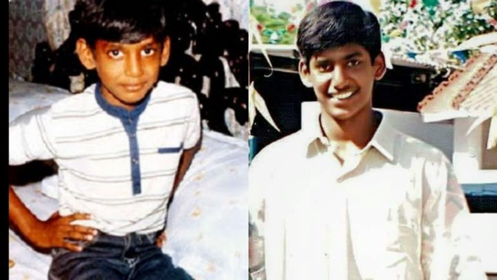 Tamil Celebrities Childhood Pictures