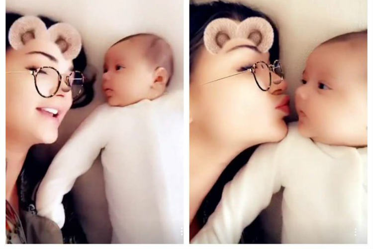 Amy Jackson Motherhood Photos