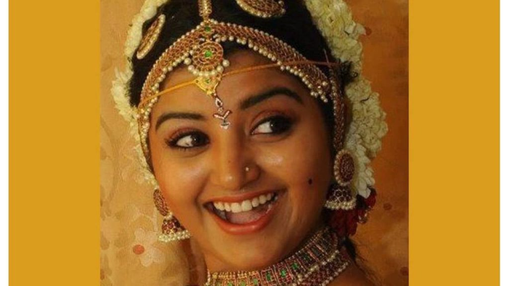 Serial artist Mahalakshmi