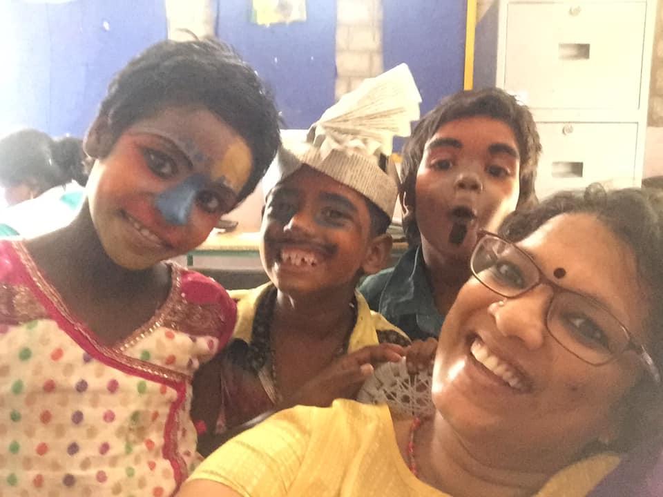 Nagapattinam Vanavil School teaches creative education, Nagapattinam Vanavil School, Education is fundamental rights
