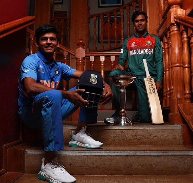 U19 world cup final clashes between India Bangladesh players viral video, cricket news, viral videos, cricket viral videos,