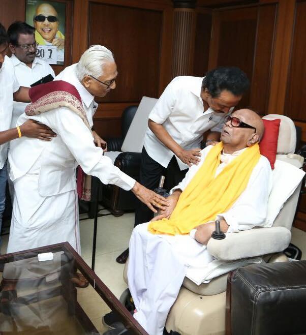 DMK general secretary K Anbazhagan Death, க.அன்பழகன் மறைவு