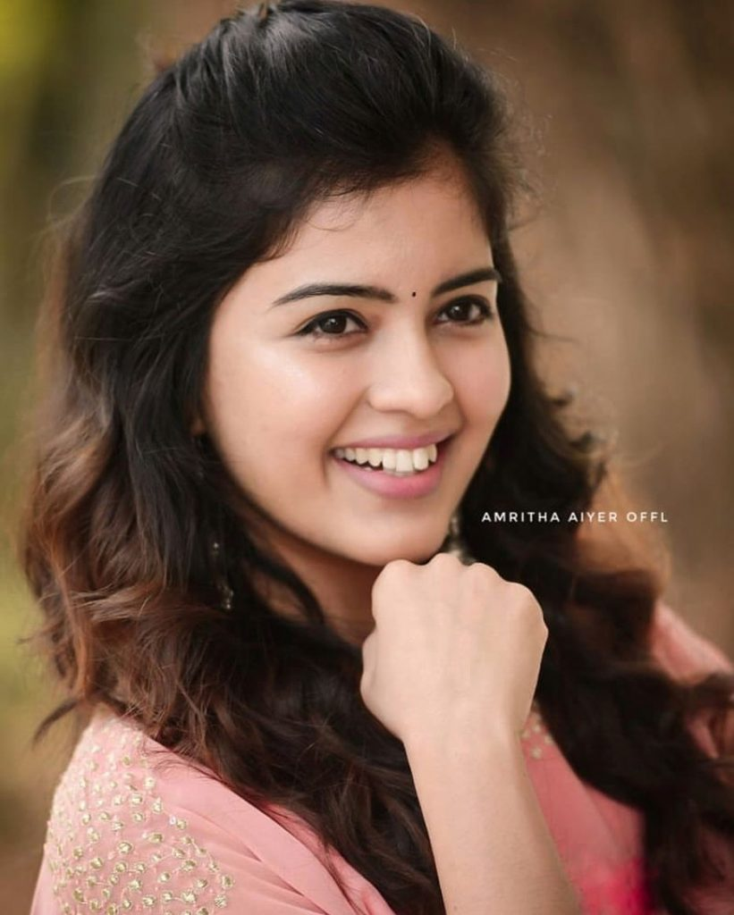 Tamil celebrities images, Amritha Iyer