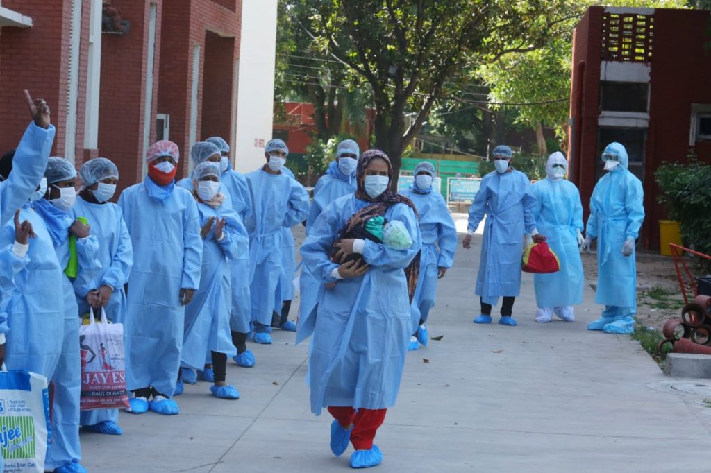19 symptomatic coronavirus patients protested for shifting them to Sood Dharmashala from PGI Chandigarh