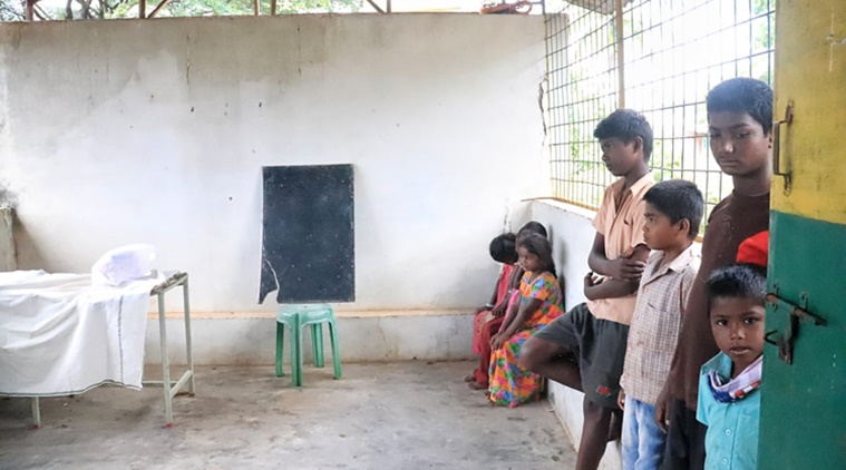 How education through TV and Online are still unreachable to the hill tribal children