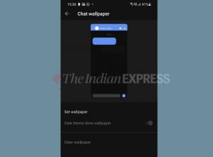 How to use Signal custom chat wallpapers feature tamil news